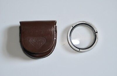 Rollei Duto No. 1 Soft Focus Filter In Leather Case