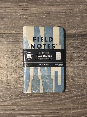 Field Notes FNC-26 Two Rivers - Unopened 3-pack - Limited Edition