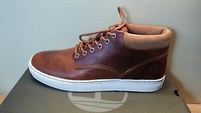 Men s Timberland Adventure 2.0 Cupsole Chukka Boot Brown Leather A1JQK sz 11 91bcb88d7c6b