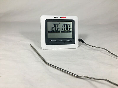 ThermoPro TP04 Digital Bratenthermometer Grillthermometer Ofenthermometer