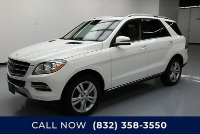 Mercedes-Benz M-Class ML 350 Texas Direct Auto 2015 ML 350 Used 3.5L V6 24V Automatic RWD SUV Moonroof