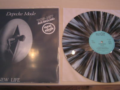 Depeche Mode New Life colored grey marbled Vinyl