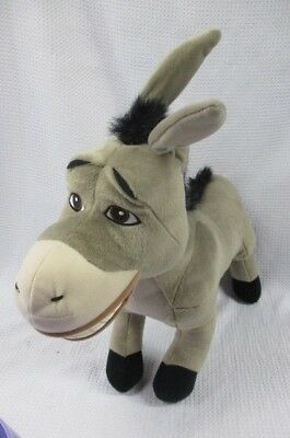 "Shrek 2 Jumbo Plush Donkey 2004 20"" Dreamworks Stuffed Animal"