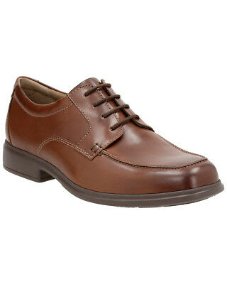 6d89668e3e9c6 CLARKS MEN'S ARMON Wing Leather Shoe - $38.17 | PicClick