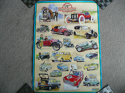 Celebrating 80 Years of Austin Cars 1906 - 1986 poster