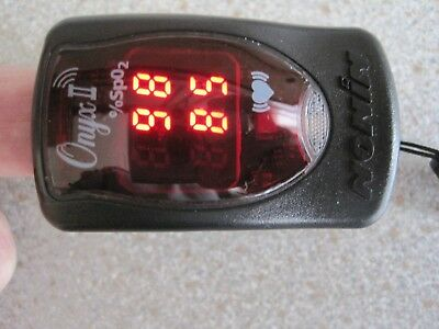 NONIN ONYX II model 9550 PULSE OXIMETER Used In Good Working Order Top quality