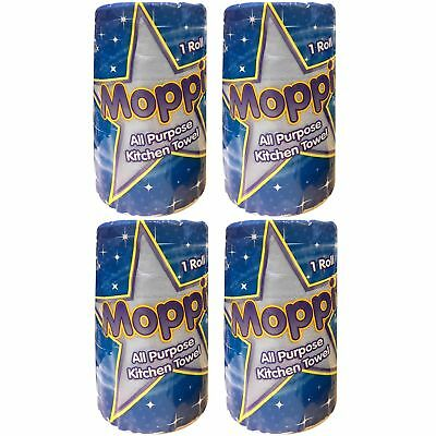 4 x 2ply Kitchen Paper Roll Hand Cleaning Wipes Blue Roll Tissue Paper Towel