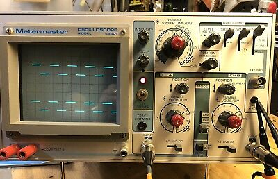 Metermaster 20MHz Dual Trace Oscilloscope