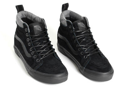 01d9da4511 Vans Sk8-Hi MTE B Black Black Camo All Weather Shoes Scotchguard Protected