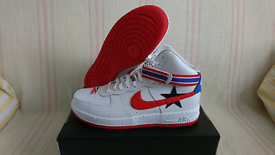 online store fashion styles sale usa online NIKE AIR FORCE 1 High RICCARDO TISCI RT x NikeLab White Red AF1 ...