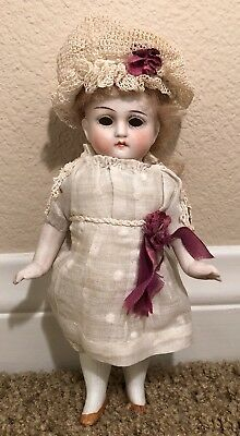 "7"" All Bisque German Antique Doll"