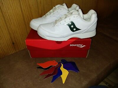 Saucony Charisma Cheer Cheerleading Dance Shoes Trainers UK Size 5 White