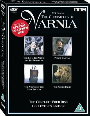 The Chronicles of Narnia The Complete 4 movies Collector's Edition DVD R4