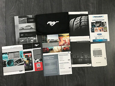 2016 Ford Mustang Owners Manual. 1-3 Days Free Fast Shipping!!