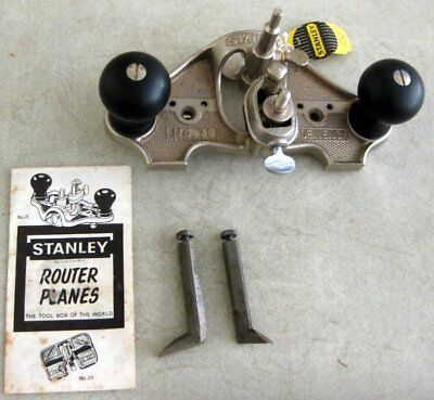 Stanley Router Open Throat (Plane) Model- 71 Made in England *Original Box