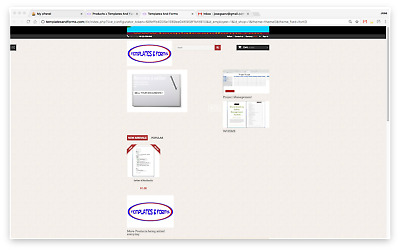 Templates and Form Website Business - Fully setup comes with stock