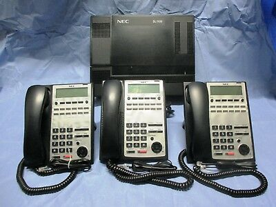 NEC Telephone System - SL1100 + InMail + 3 Handsets..Price Reduced!