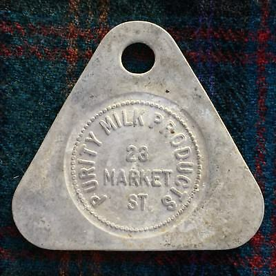 "Milk ""Good For"" Token - 1 Quart Milk / Purity Milk Products 23 Market St."