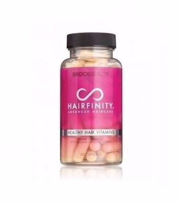 Hairfinity New Hair Vitamins By Brock Beauty (60 Caps/1Month)