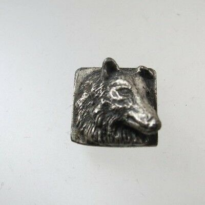 Vintage Sterling Collectible Collie Dog
