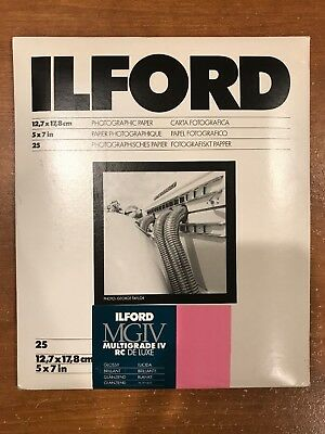ILFORD MULTIGRADE IV RC DeLuxe - B&W negative paper resin coated glossy variable