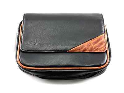 Skyway Remington Leather 4 Pipe Tobacco Pouch Case with Carry Strap Tobacciana