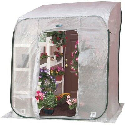FlowerHouse Pop Up Greenhouse 7 x 7 ft Compact Collapsible Outdoor Garden New