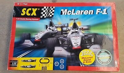 SCX scalextric mclaren f1 track controllers and power supplies
