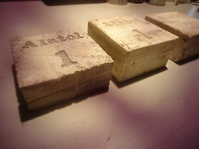 Alatol # 1 and # 3 sharpening stones,   3 inch squares ____________________A-12