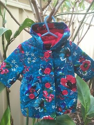 Catimini Baby Girls 6 Months Jacket Brand New Quality