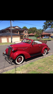 1937 holden bodied chev sports roadster only 184 made only 5 known left body 105