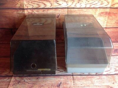 Old Style Floppy Disk Holders Storage Containers