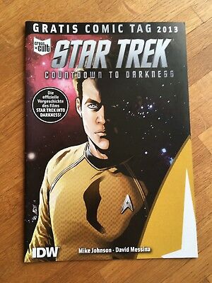Star Trek Countdown to Darkness - Comic Tag 2013 Ausgabe