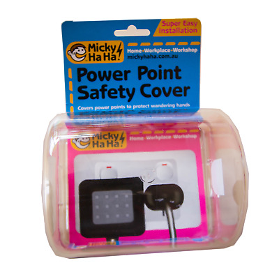 Micky Ha Ha Power Point Safety Cover New