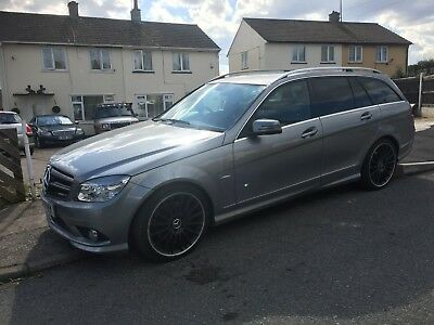 2010 Mercedes C350 Amg Sport Flappy Paddle Automatic 3.0 Turbo Diesel Estate Px