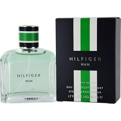 TOMMY HILFIGER MAN Eau de Toilette Sport Spray EDT 50ML