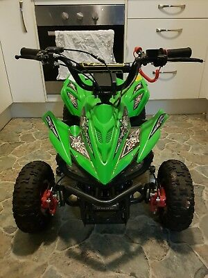 Kids Quad Bike ,disk Brakes,as New Condition Only Used 3 Times No Reserve