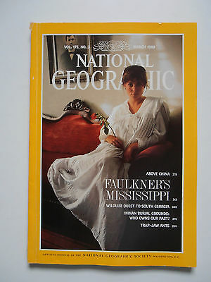 National Geographic Magazine March 1989