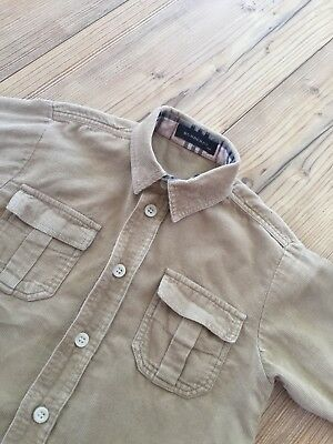 Toddler Boys Age 18 Months Burberry Long Sleeved Shirt