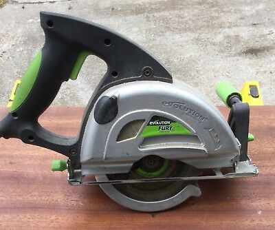 Evolution Fury Multi Purpose Circular Saw 185mm
