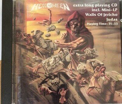 CD Helloween Walls Of Jericho
