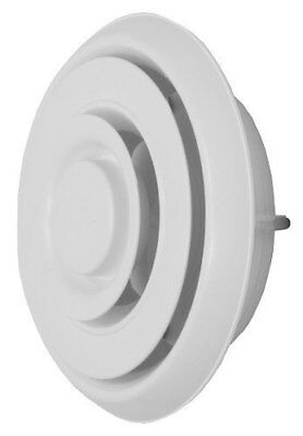 """Easy Air Products Easy Air Grille EAG6 FREE SHIPPING 6"""" ROUND ADJUST. DIFFUSER"""
