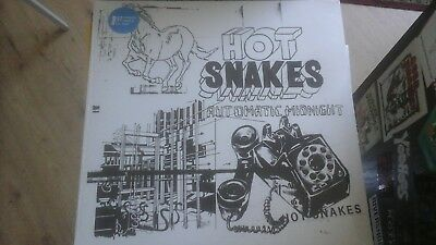 HOT SNAKES automatic. ..FIRST PRESS COLORED VINYL LP, NEU