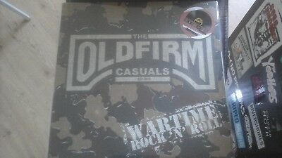 RSD 2018 THE OLD FIRM CASUALS wartime rockn roll,PICTURE LP, NEU