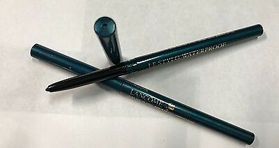 Lancome LOT OF 2 Le Stylo Waterproof Eyeliner in the Shade of Azure- Teal Blue