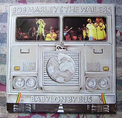 2 LP Bob Marley & The Wailers, Babylon by bus, 1978, OIS, Clubpressung