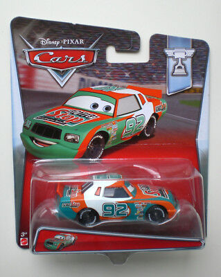 Cars 2 3 MURRAY CLUTCHBURN Sputter Stop 92 MATTEL Disney Die-Cast OVP 8/11 EU !!