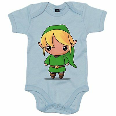 Body bebé Chibi Kawaii Link parodia de Legend of Zelda