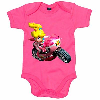 Body bebé Super Mario Kart Peach