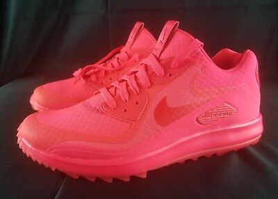 32a3af29db NIKE AIR MAX Zoom 90 IT Solar Red Golf NEW MEN Shoes 844569-601 Size ...